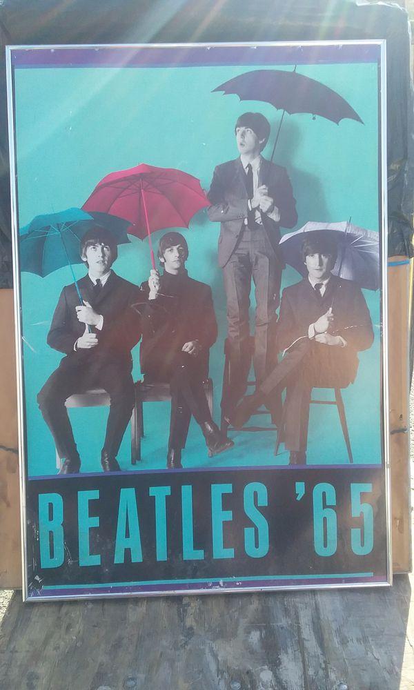 Original Beatles 65\' poster framed (Audio Equipment) in San Jose, CA ...