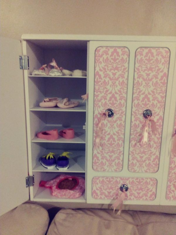 Our Generation Doll Wardrobe With Many Extras For Sale In Addison