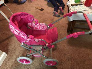 Adjustable play stroller for dolls for Sale in Ellicott City, MD