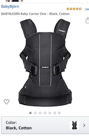 Photo Babybjorn baby carrier