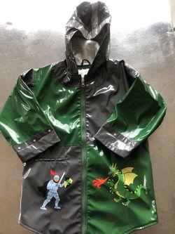 Rain jacket coat knight and dragon 5/6 T Thumbnail