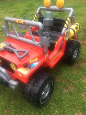Photo Power wheels Fire rescue w battery and charger