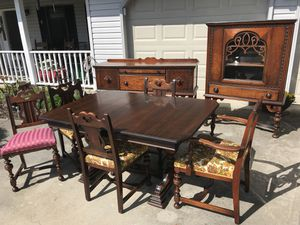 Antique Dining Room Suite For Sale In Knoxville TN