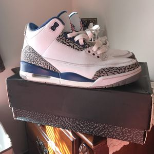 True blue 3s size 9 for Sale in Burke, VA