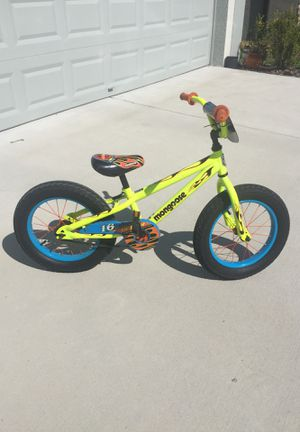 """Mongoose LiL' Bubba 16"""" bike for Sale in Riverview, FL"""