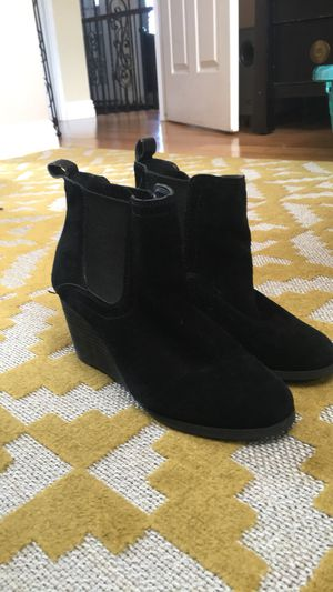 Lucky Brand Black Leather Ankle Boots for Sale in Los Angeles, CA