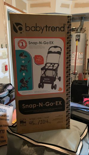 Photo Snap N Go EX stroller
