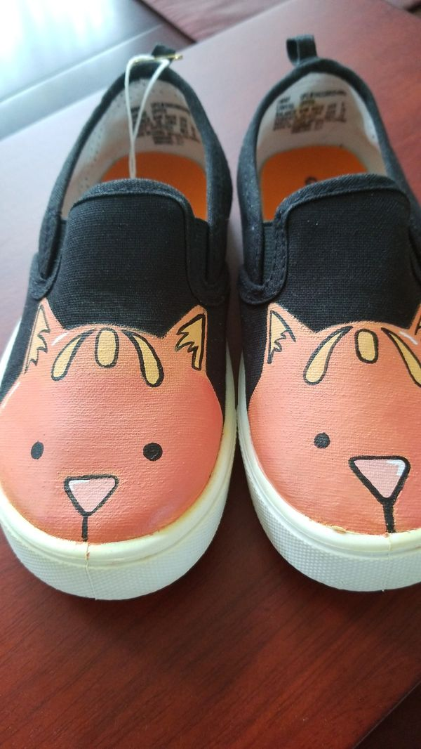 5dd1477831186 Hand painted kids shoes kitty cat for Sale in Covina, CA - OfferUp