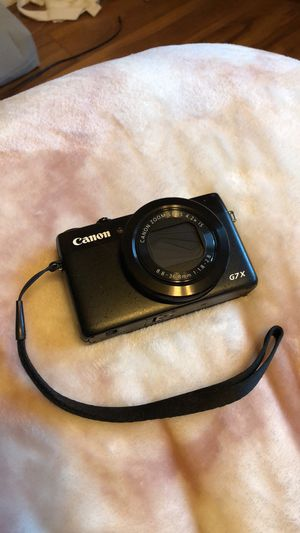 Canon G7x for Sale in Seattle, WA