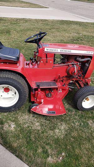 Photo Wheel Horse tractor