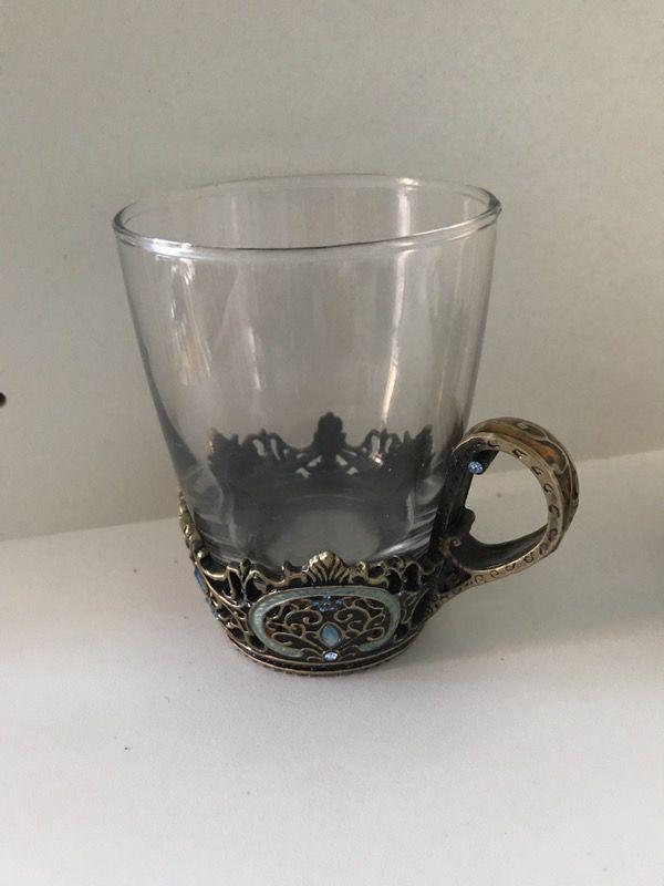 Jeweled teacup