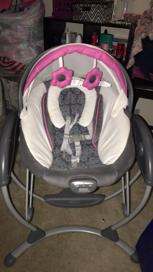 Baby girl swing for Sale in Silver Spring, MD