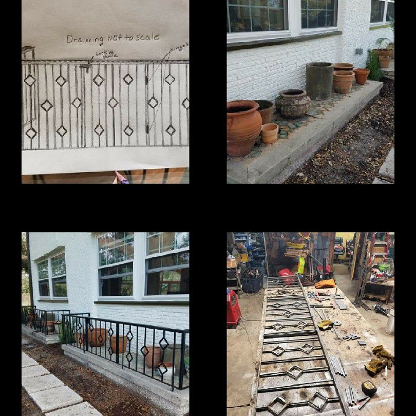 Ornamental Steel Gate and Fences