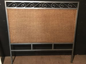 pier one, full sized wicker headboard for Sale in Bethesda, MD