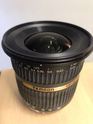 Tamron SP AF 10-24mm f/3.5-4.5 DI II Zoom Lens for Sale in Denver, CO