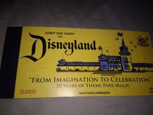 "Disneyland's Souvenir ""E"" Ticket Book for Sale in Los Angeles, CA"