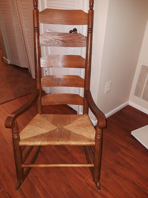 Ladderback rocking chair for Sale in Dumfries, VA