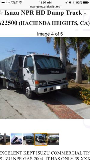 Isuzu NPR truck for Sale in La Puente, CA - OfferUp