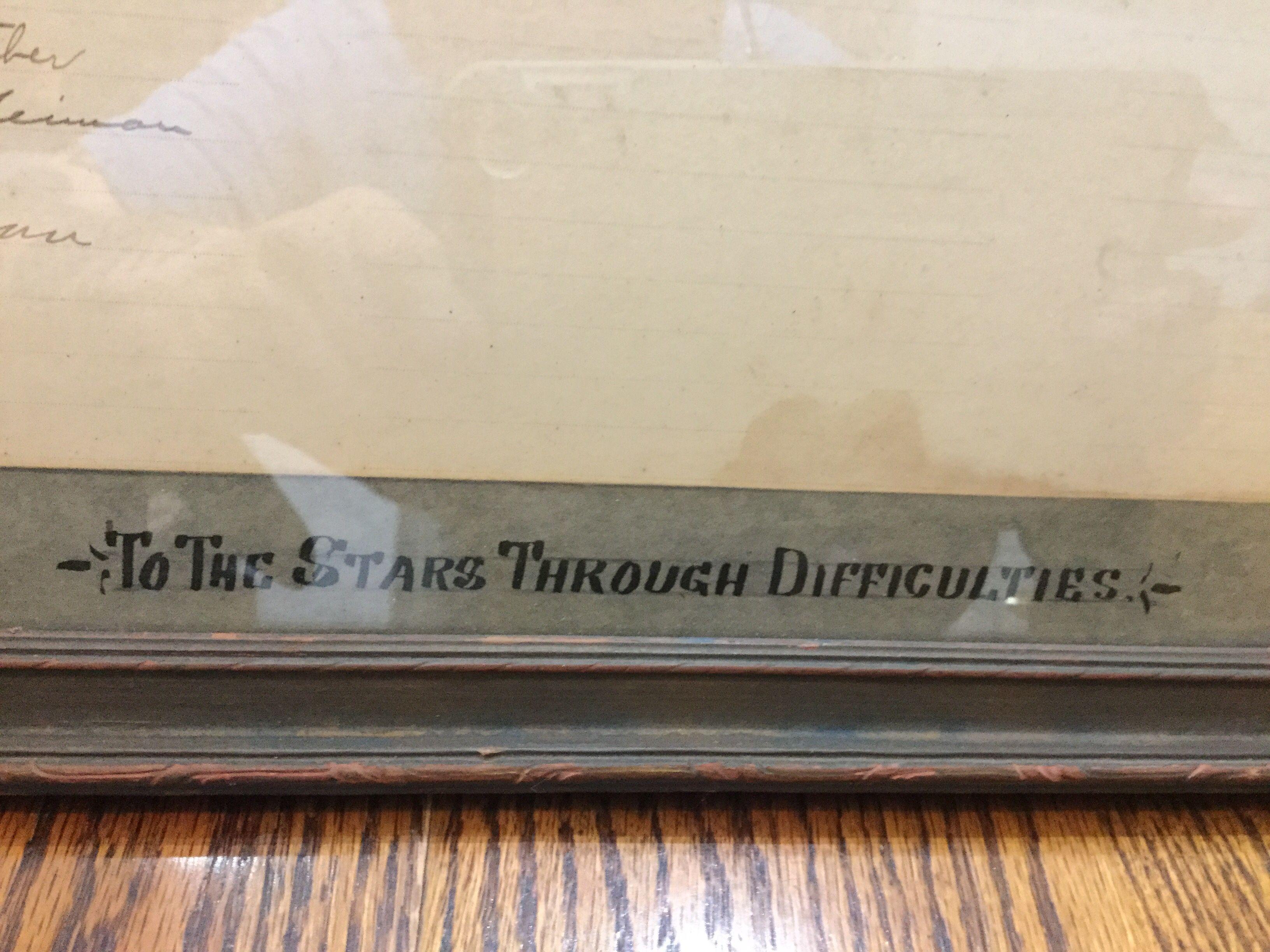 1926 York High School Diploma