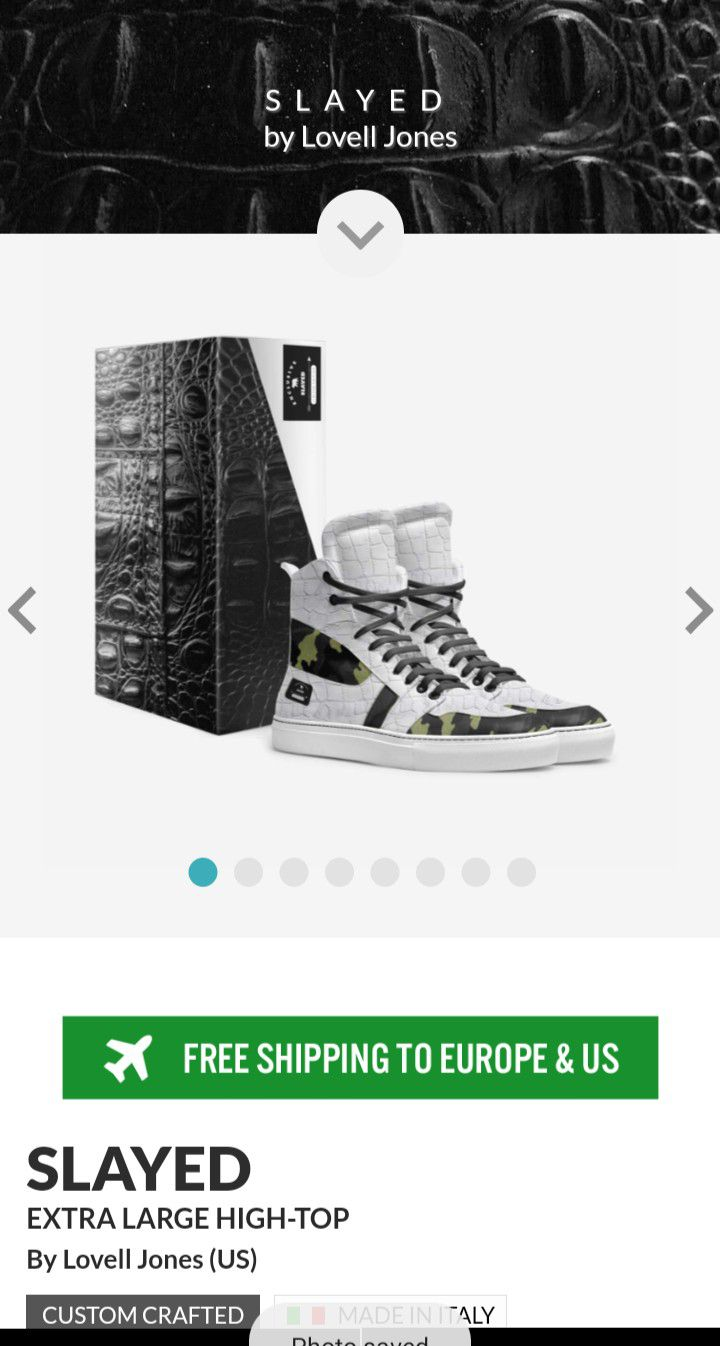 No Coast Custom Made Shoez (Slayed)