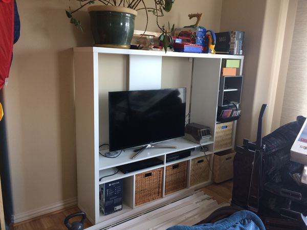 Ikea Lappland Tv Storage Unit White 72 By 57 For Sale In
