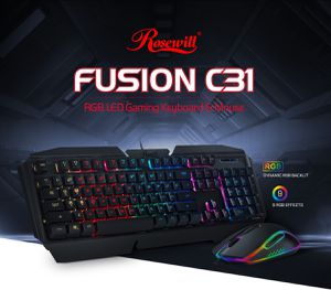 Rosewill Fusion C31 RGB mouse and keyboard for Sale in Rockville, MD