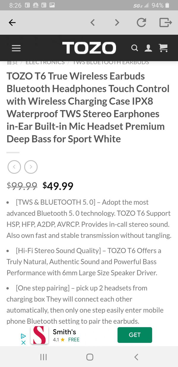 New And Used Wireless Earbuds For Sale In Dubuque Ia Offerup