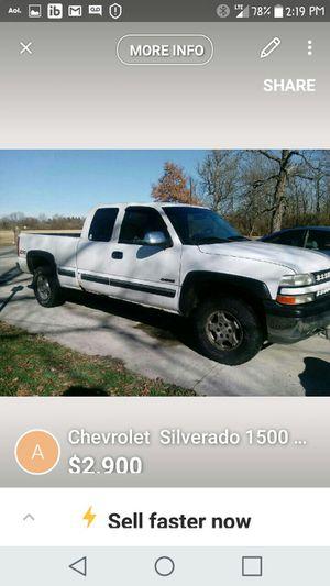 2002 chevy chevrolet Silverado 1500 z71 4x4 for Sale in Columbus, OH