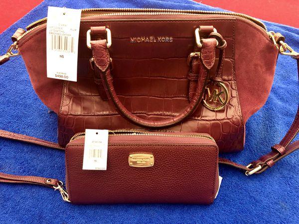 e48b55c15e64 Michael Kors Purse + Matching Wallet for Sale in Union City
