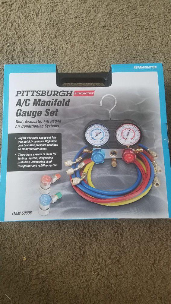 AC manifold gauges