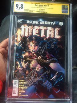 Dark Nights Metal Batman CGC Thumbnail