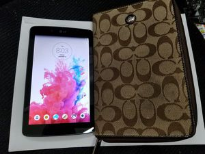 LG G Pad 7.0 LTE 16GB, WiFi+Cellular (Unlocked) w/ Case for Sale in Baltimore, MD