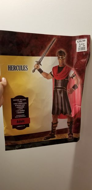 Hercules costume for men for Sale in North Olmsted, OH