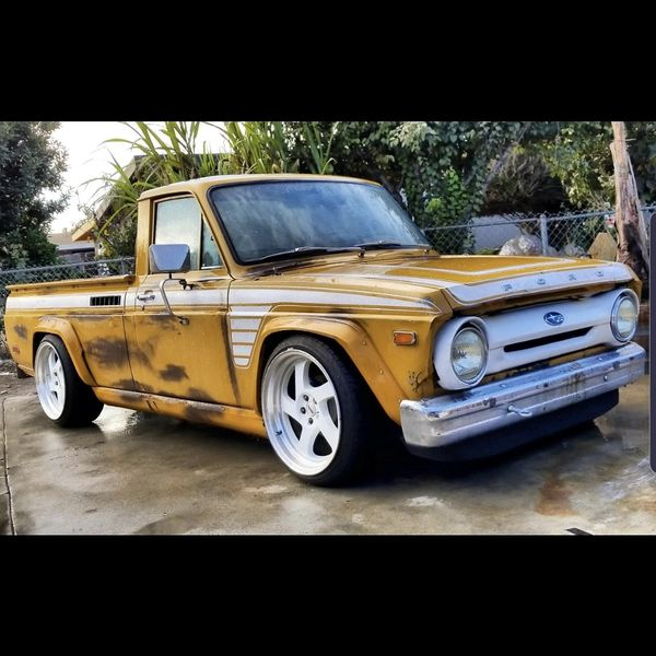 74 Ford Courier Awd Subaru Drivetrain For Sale In San