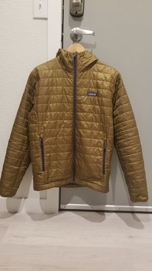 Photo Patagonia Nano Puff Jacket Men's Size Medium Coriander Brown