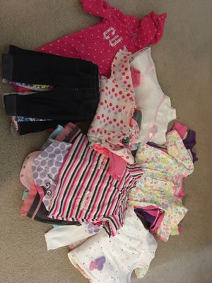 Baby girl clothes 3-6 months for Sale in Falls Church, VA