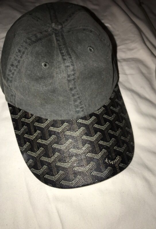 59554fa86a4 Custom Goyard dad hat made from real Goyard Monroe tote bag for Sale in  Spring