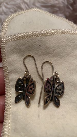 Photo Mariposa Butterfly James Avery Earrings Retired