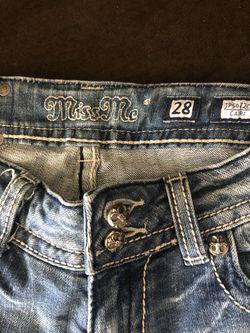 Miss Me Jeans Capri Thumbnail