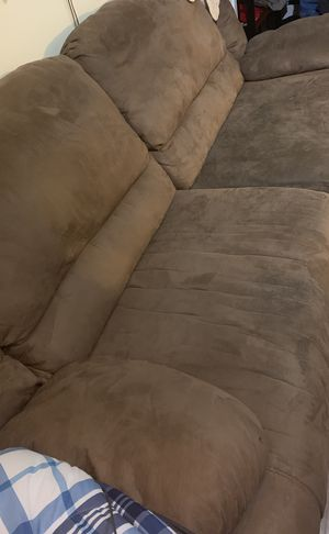 Reclining couch for Sale in Apex, NC