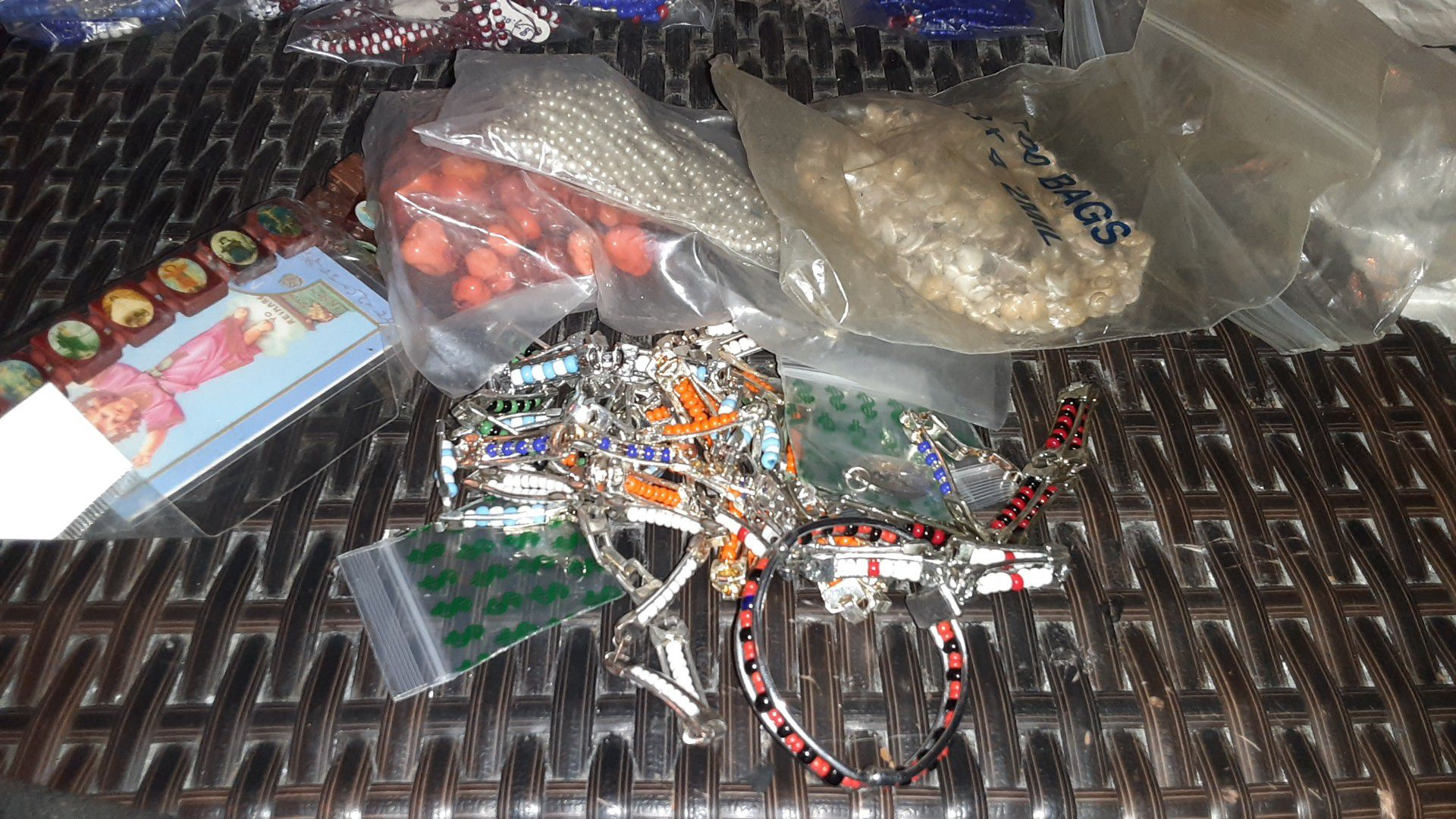 Religious necklaces and bracelets