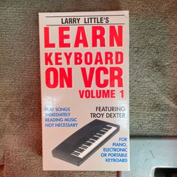 Learn To Play Keyboard VCR Thumbnail