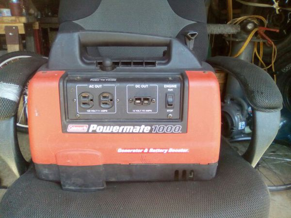Coleman Powermate 1000 Generator Battery Booster For Sale In Independence Or Offerup