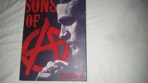 S.O.A. SONS OF ANARCHY SEASON 6 $20 obo for Sale in Pittsburgh, PA
