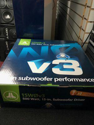 Photo Jl audio 15 w0v3 get the best deals in la today get a super sick deal today!