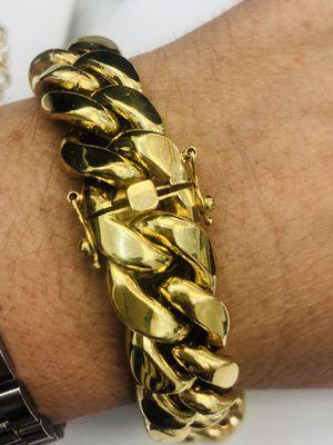 Manilla miami cuban link en oro 10k for Sale in Virginia Gardens, FL