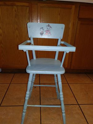 Vintage style baby doll high chair for Sale in Ingleside, IL - OfferUp