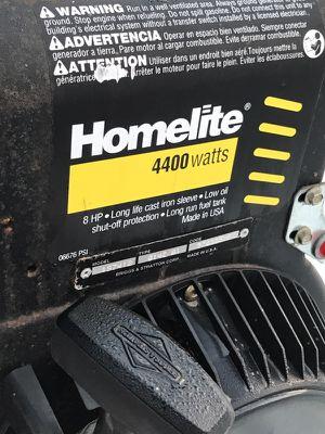 Stupendous Homelite Lr4400 Generator 8Hp Briggs And Stratton 4400 Watts 110V 240V For Sale In Garden City Mi Offerup Interior Design Ideas Gresisoteloinfo