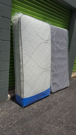 New Twin Size Pillowtop Mattress + Box Spring for Sale in Silver Spring, MD