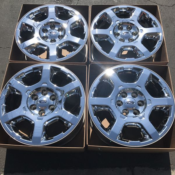 "20"" oem Ford F-150 factory wheels 20 inch chrome rims for ..."